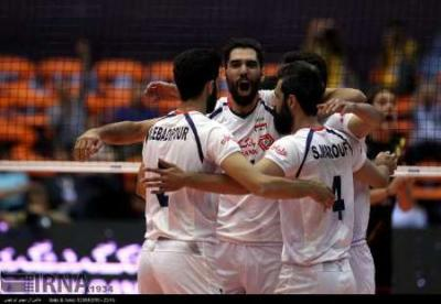 Iran beats Belgium in FIVB World League