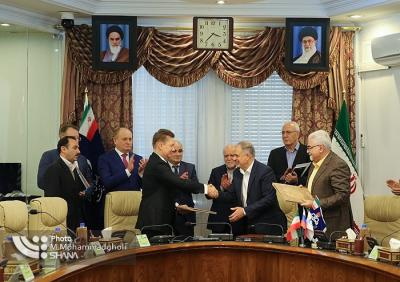 Gazprom inks agreement on Iran's $4b gas project