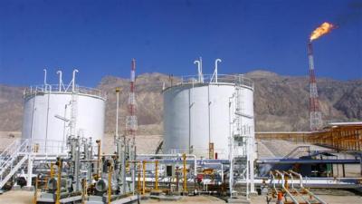 Produção de gás natural do Irã sobe 20%