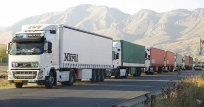 O trânsito de mercadorias via Irã aumenta 21% em 8 meses