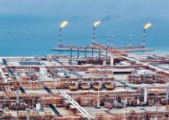 South Pars maior fase para cima do Irã PIB de 3%.