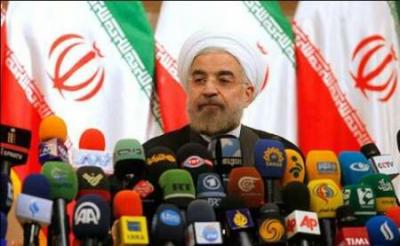 Rouhani to attend news conference on JCPOA anniv.