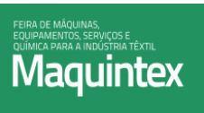 6ª Feira de Máquinas, Equipamentos, Serviços e Química para a Indústria Têxtil