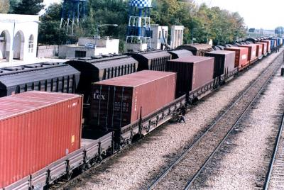 Rail freight transport in Iran up 55%