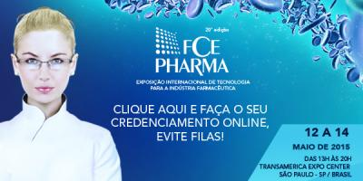Exposição Internacional de Tecnologia para a Indústria Farmacêutica (12 a 14 de maio de 2015)