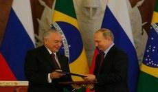 Brazil and Russia sign joint statement and bilateral cooperation acts