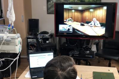 Bolsonaro faz reunião com general Heleno por videoconferência