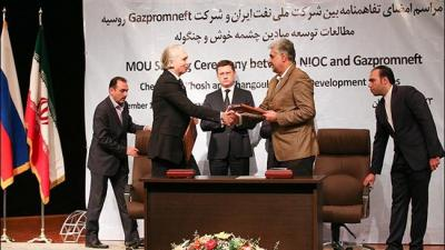 Gazprom presents bids for Iranian oil projects