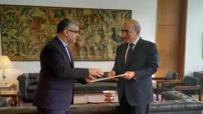 New Ambassador of Iran in Brazil delivered copies of credential letters