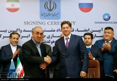 Iran inks rail deal worth €2.5b with Russia