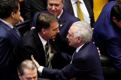 Temer e Bolsonaro discutem hoje reforma da Previdência