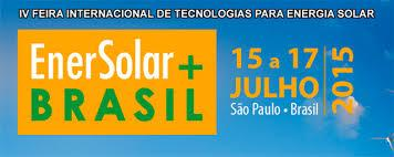 INTERNATIONAL FAIR OF TECHNOLOGY FOR SOLAR ENERGY, 15-17 July 2015, SP.