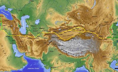 New Silk Road and opportunities for Iran