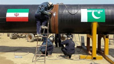 China para construir gasoduto Paquistão para o gás do Irã