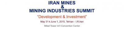 Irã Minas e Mineração Indústrias Summit (IMIS 2015),31 Maio - 1 Junho 2015,Teerã, Irã.