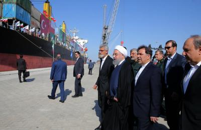 Strategic Chabahar port development plan inaugurated