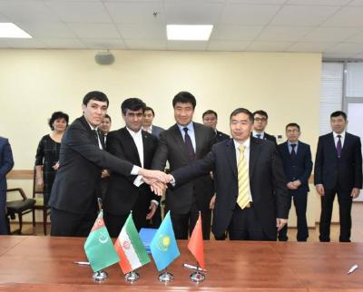Kazakhstan, China, Turkmenistan and Iran agree to increase railway traffic