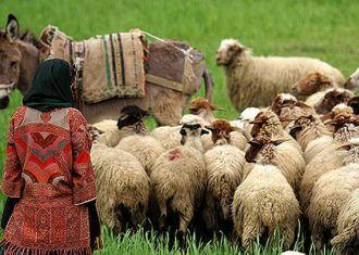 Sadabad complexo para sediar festival de nômades iranianos durante as férias Noruz