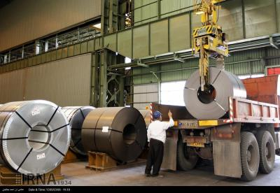 Crude steel exports from Iran up 8% in 2 months