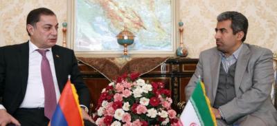 Armenia keen on boosting economic ties with Iran
