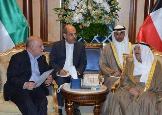 Iran oil minister meets Kuwait emir on weak oil prices