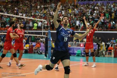 Iran defeat Argentina in FIVB Volleyball World League