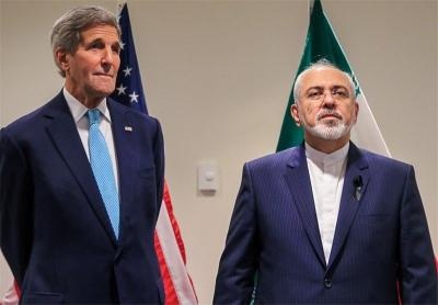 John Kerry and Mohammad Javad Zarif named winners of the Chatham House Prize 2016