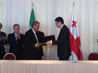 Irã e Georgia assinam MoU para aprimorar cooperação