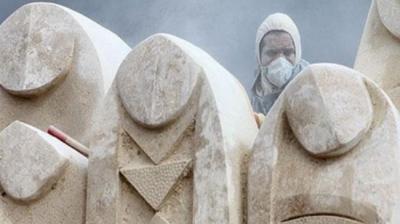 Escultura Simpósio Internacional 2014 começa em Teerã