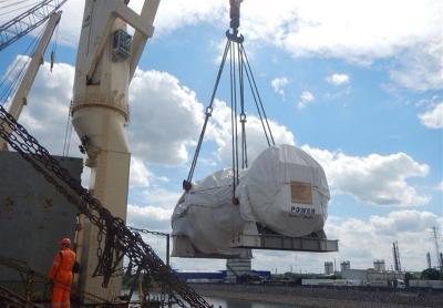 A Siemens alemã entrega a segunda turbina de classe F ao Irã