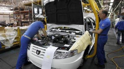 Tunísia olhos carro importações provenientes do Irã