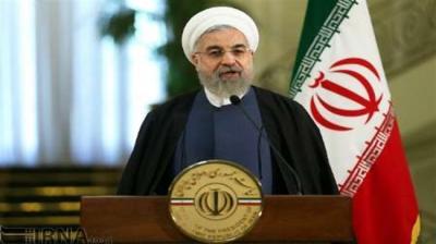 Rouhani anunciou grande aumento na produção de gás até o final do ano