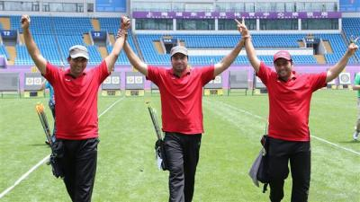 Iran archers win world silver medal