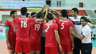 Irã eleva U23 Asian troféu de vôlei