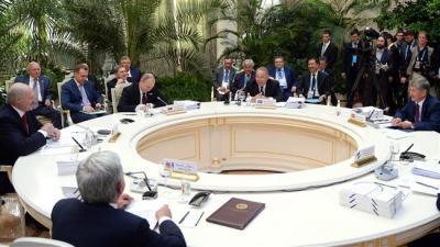 Okays União Euroasiática de livre comércio com o Irã