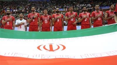 Irã é a equipe de vôlei asiática melhor classificada no ranking da FIVB