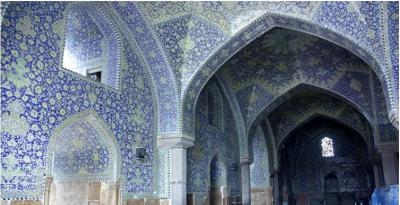 Come with us to Iran - 16 - province of Isfahan - Mosque of Imam Khomeini (may God bless you)