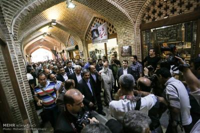 Iran's first permanent handicrafts marketplace opens