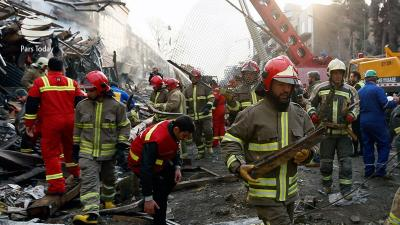 Brazilian government backs solidarity with victims of building collapse in Tehran
