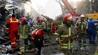 Governo brasileiro se solidariza com vítimas de desabamento de prédio em Teerã