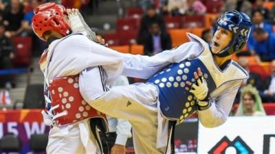 Iran's Ashourzadeh wins world taekwondo title