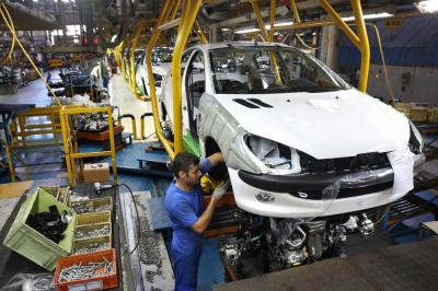 Iran's 5-month passenger car output up 10.6% yr/yr