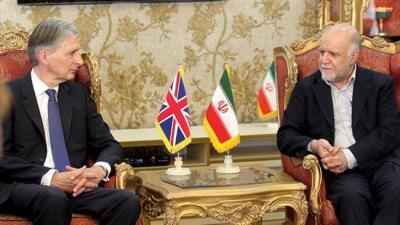 Primeira delegação comercial britânico a visitar o Irã na próxima semana.