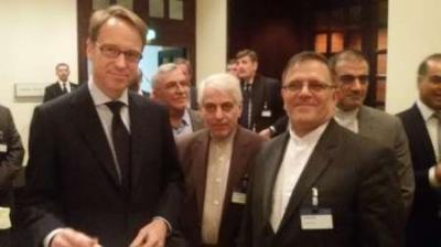 Os presidentes de bancos centrais do Irã e alemão reúnem-se em Frankfurt