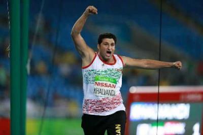 Atiradores de dardos iranianos ganham medalhas de ouro e prata em Jogos Paraolímpicos