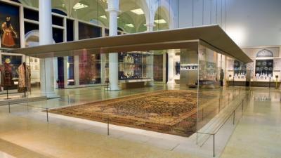O tapete persa mais famoso do mundo