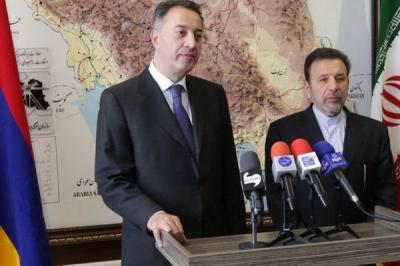 Ministro armênio disse: Irã, Armênia pode reforçar os laços com a Eurasian União Económica: