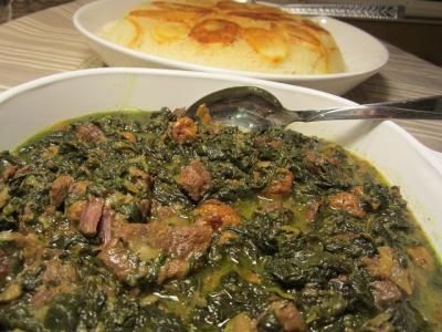 Prune-Spinach Stew: A Tasty, Traditional Iranian Meal
