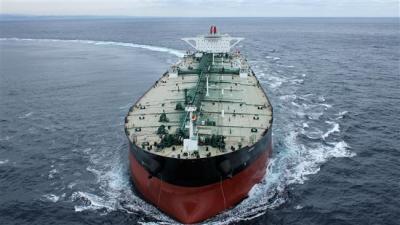 Maior aumento nas vendas de petróleo do Irã para a Coreia do Sul.