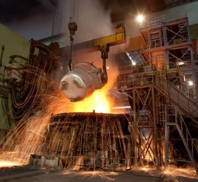 Produção de aço bruto do Irã sobe 9,6% em relação ao ano anterior em 10 meses